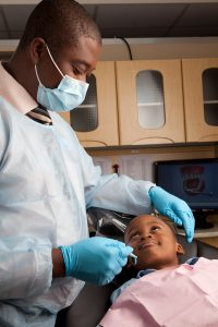Your dentist in Ghana for preventive care.